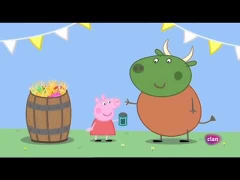Peppa pig Castellano Temporada 4x30 La feria de los niños - YouTube