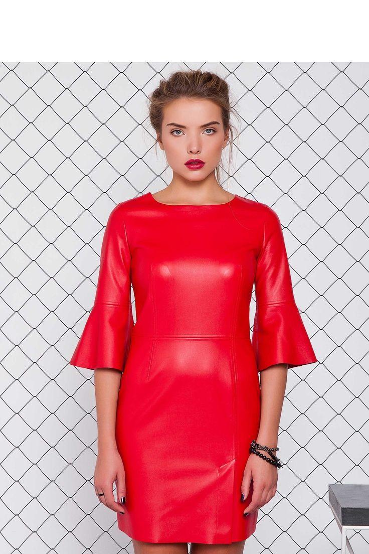 http://galeriaeuropa.eu/sukienki-wieczorowe/600172150-sukienka-z-eko-skory-gr1071-red