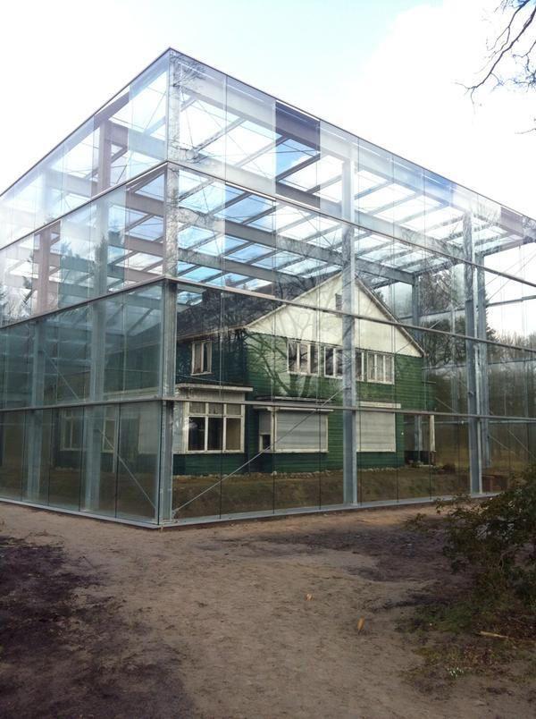 Oude woning van de kampcommandant bij Kamp Westerbork https://www.fijnuit.nl/1136/kamp-westerbork