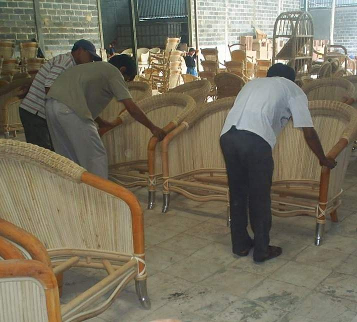 Inspection in Furniture company