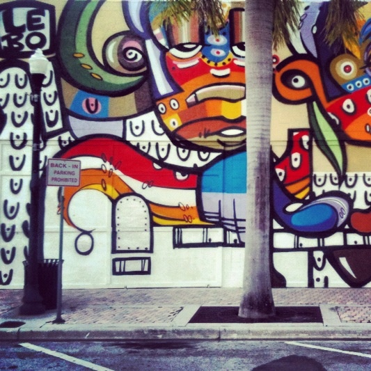 Lebo graffiti @ Hollywood Arts Park
