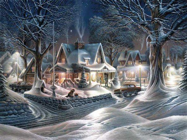342 best terry redlin art images on Pinterest | Art paintings ...