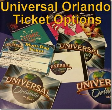 Before you plan your visit, you will want to decide what kind of tickets and options you want for your #Universal #Orlando visit. #Travel