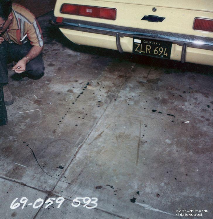 Sharon Tate's Rented Camaro | Charles Manson Family and Sharon Tate-Labianca Murders | Cielodrive.com