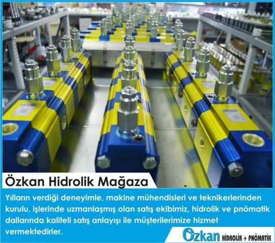 Our sales team which is full of mechanical engineers and technicians who are experted on hydraulics and pneumatics is giving you a professional service with the sense of high quality and confidence.    www.ozkanhidrolik.com.tr  Özkan Hidrolik
