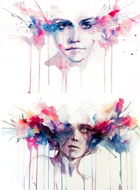 Paintings by Silvia Pelissero | Inspiration Grid | Design Inspiration