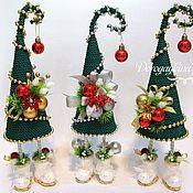 Подарки к праздникам ручной работы. Ярмарка Мастеров - ручная работа Елка-топотушка новогодняя интерьерная. Handmade.