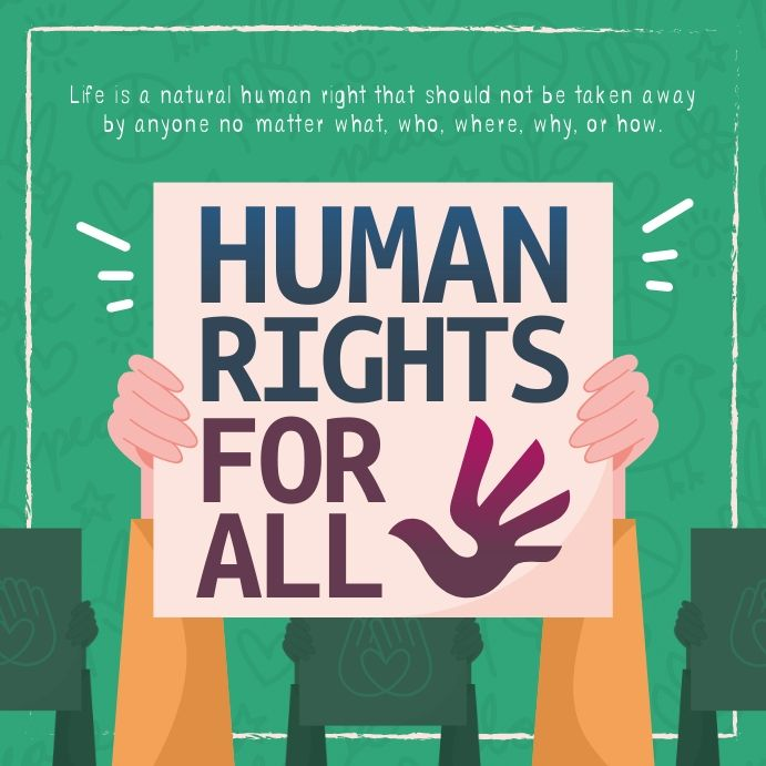 Green Human Rights Instagram Image Human Rights Day Human Rights Human