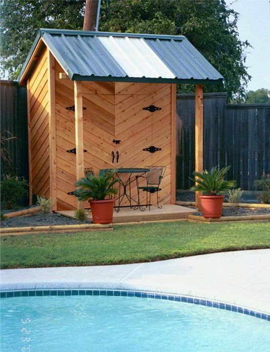 pool cabanas sheds yahoo image search results pool cabanapool ideas swimming