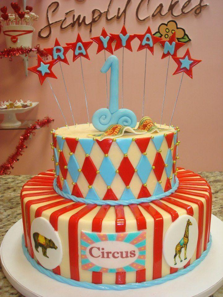 Vintage Clown Cake Topper