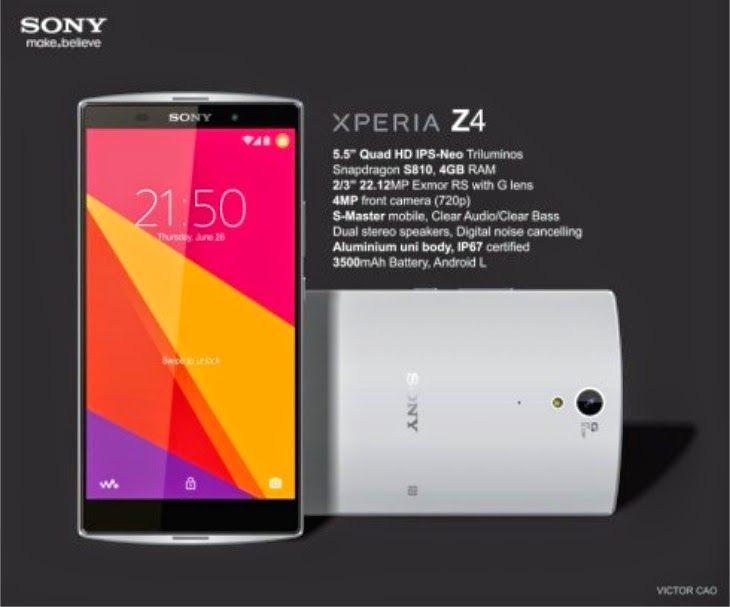 Rumor : Sony Xperia Z4 hadir dengan chipset baru