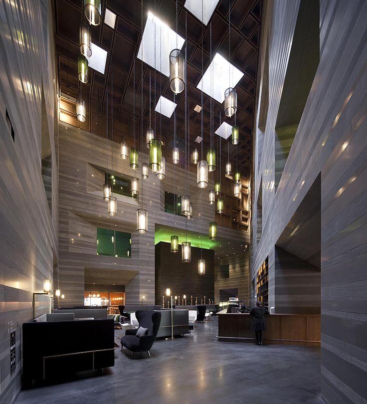 Atrio Hotel Le Meridien Zhengzhou Proyecto Lyndon Neri y Rossana Hu Foto Pedro Pegenaute