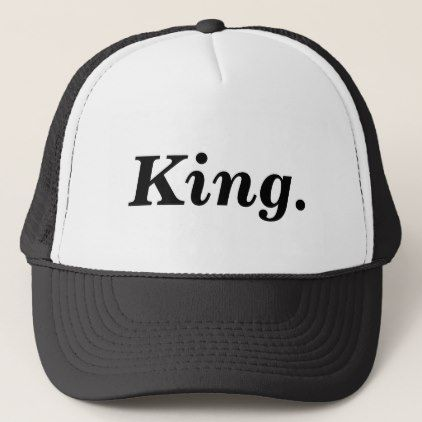 King Hat - boy gifts gift ideas diy unique