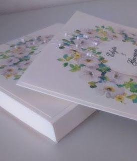 moje-ozdoby: Delikatna kartka i pudełko dla Edyty i Grześka