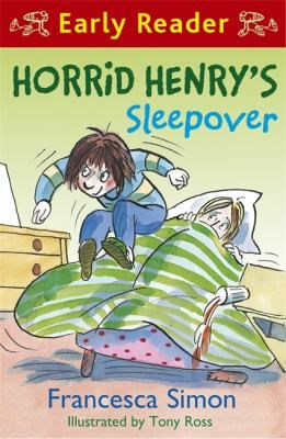 Horrid Henry is going to New Nick's house for a sleepover. Bliss! New beds to bounce on. New biscuit tins to raid. Henry can't wait. But will the evening turn out the way Henry expects?