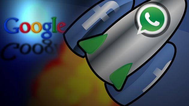 Segundo gran error de Google: la compra de WhatsApp por Facebook – RT