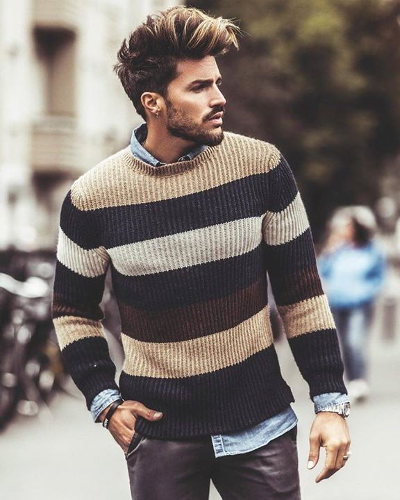 Love that sweater?? Let me know your comments for more stylish updates.m . by @marianodivaio . . #menswear #mensfashion #menstyle #mensstyle #ootdmen #collection #photography #creativeconcept #pink #inspiration #instafashion #londonfashion #fashionillustration #illustration #trendyclothes #fashion #swag #style #stylish #ootd #dapper #swagger #men #photooftheday #loafer #luxury #velvetslippers #mensshoe #slippers #mensfashionpost http://ift.tt/2CR6JZe