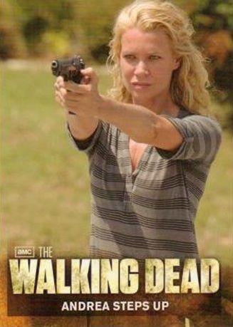 The Walking Dead Season 2 (2012) Cryptozoic Card # 46 Andrea Steps Up