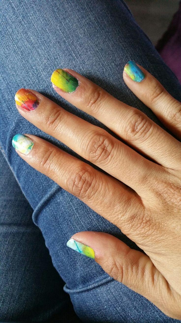 47 best Decoración de uñas images on Pinterest   Nail decorations ...