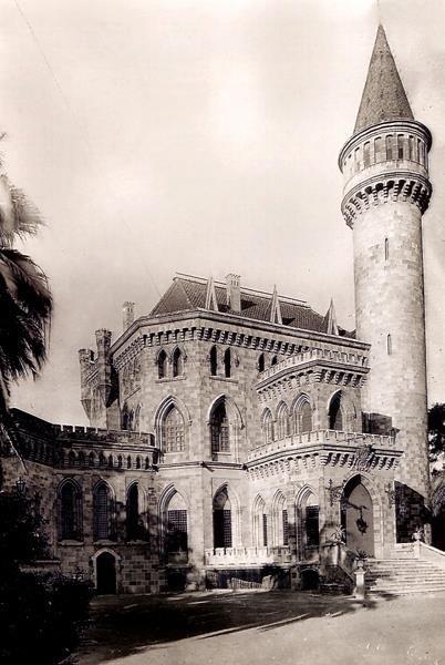 Primer plano del Palacio de Ripalda