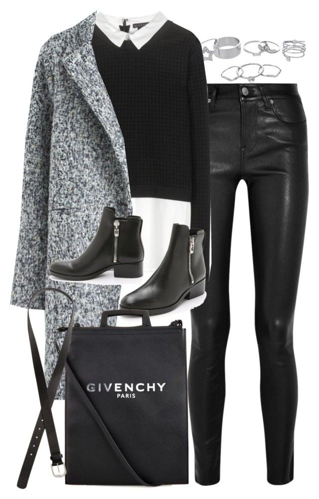 """""""Untitled #7603"""" by nikka-phillips ❤ liked on Polyvore featuring Lipsy, Helmut Lang, Alice + Olivia, 3.1 Phillip Lim, Givenchy and H&M"""