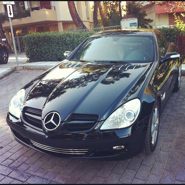 Mercedes SLK 200 #mercedes #slk200 #black