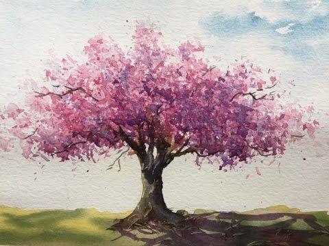 Как рисовать дерево. Пропорции важны. Рисуем вишневое дерево.