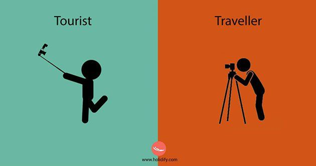 10 Differences Between Tourists And Travellers