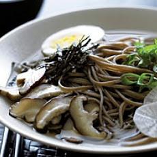 Warm Soba Noodle Bowl | Soba | Pinterest
