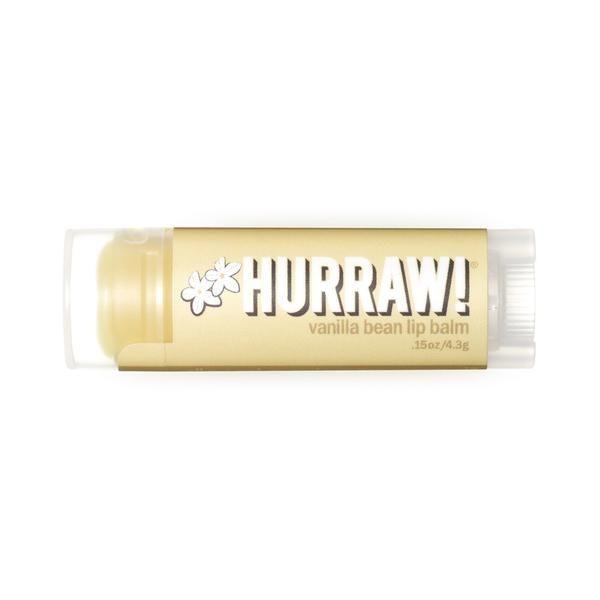Hurraw! Organic and Vegan Vanilla Bean Lip Balm