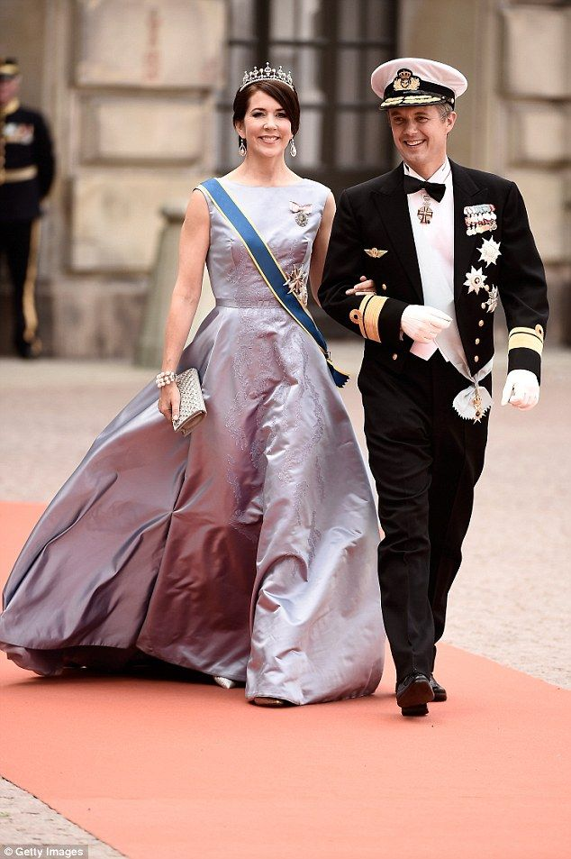 Savvy spenders: The Danish Royal Family's annual report for 2015 has revealed that Princess Mary and Prince Frederik came in 683,558 kroner ($136,201) under their annual budget last year
