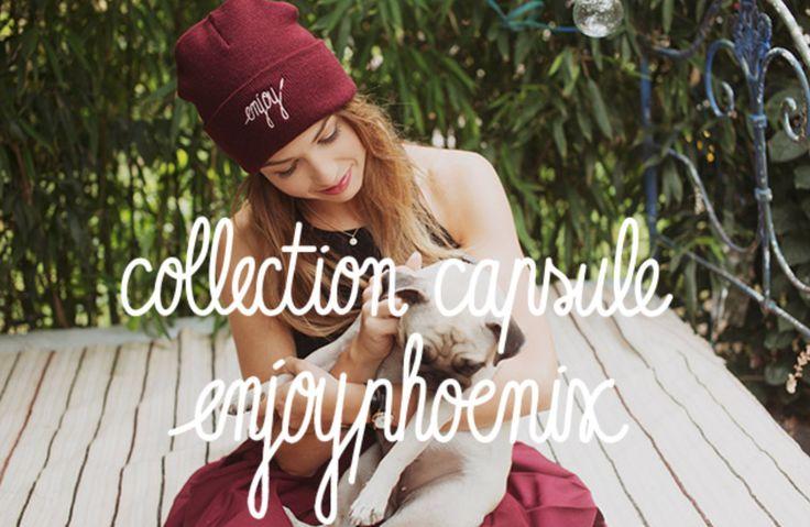 La youtubeuse connues #EnjoyPhoenix alias Marie Lopez vient de lancer une collection pour la marque de vêtements branchées, R.A.D.