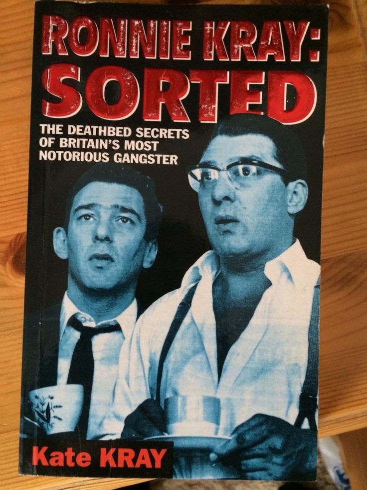 Ronnie Kray: Sorted by Kate Kray Kray Twins London East End