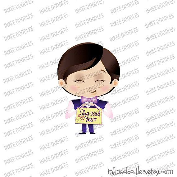 Page Boy Ring Bearer Cute Wedding Party Pink Blue Cartoon Illustration He Asked She Said Yes Signboard Clip Art 30063, by Inkee Doodles, $6.00 USD for set of 20 pieces of cute clipart, #PageBoy #RingBearer #CuteWeddingParty #Pink #Blue #WeddingCartoon #ringbearerIllustration #HeAskedSheSaidYes #Signboard #WeddingClipArt