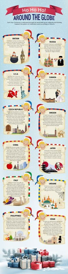 Christmas in Russia Infographic More