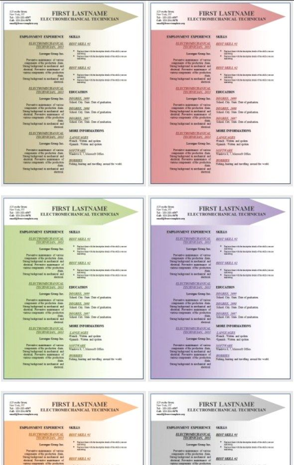free word resume templates download curriculum vitae template microsoft 2007