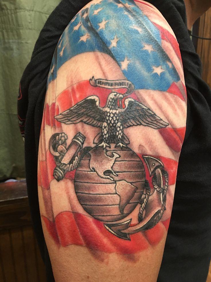 Marine Corps Tattoos Ideas: Tattoos, Marine Tattoo, Military