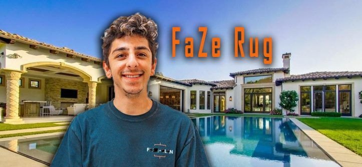 Faze Rug S New House Inside Look And How Much He Paid In 2020 New Homes Celebrity Houses Famous Houses