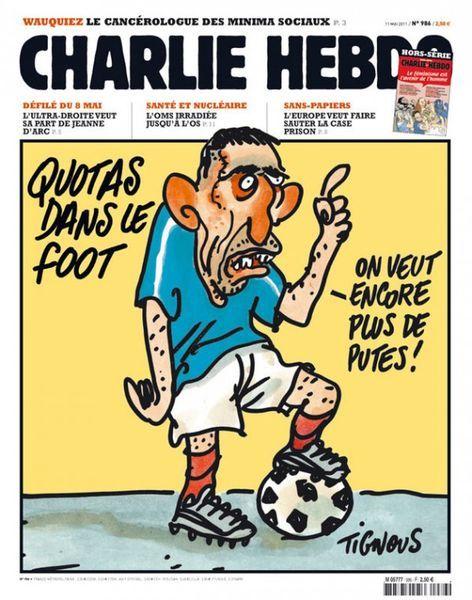 Top 45 des Unes de Charlie Hebdo en 45 ans d'existence