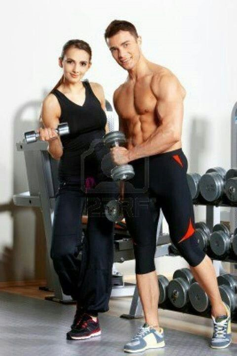 gym men and women