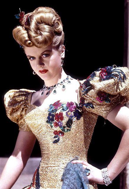 Angela Lansbury #dressmaking