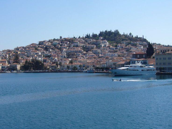 We ❤ Greece | Poros harbour #Greece #travel #explore #destination