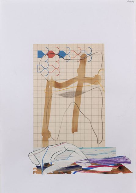 Arturo Herrera Untitled (2005) mixed media collage on paper 19.635 x 13.75 in.
