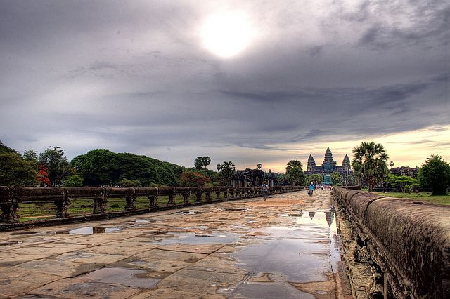 Siem Reap - Cambodia  Siem Reap City of Cambodia has become one of the best cities in 2014 on Travel + Leisure magazine according to CNN Travel. Raking by votes from above magazine's readers Siem Reap City got the 4th place while Japan's Kyoto got number 1 and New Orleans of America got 10th.