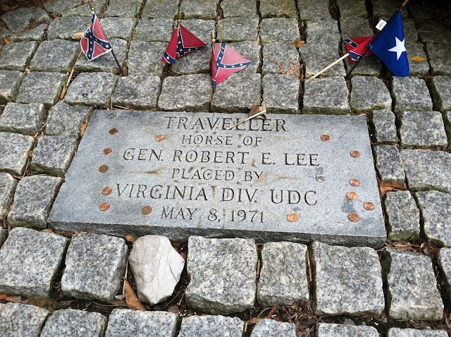 Very interesting read ~~Traveller, the beloved Horse of Gen. Robert E. Lee never thought I would see the grave...what a sweetheart animal!!!