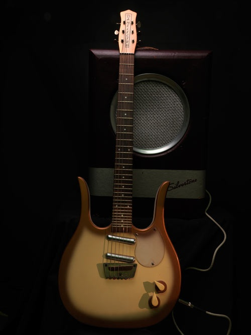 1962 Danelectro Guitarlin and Silvertone Amp