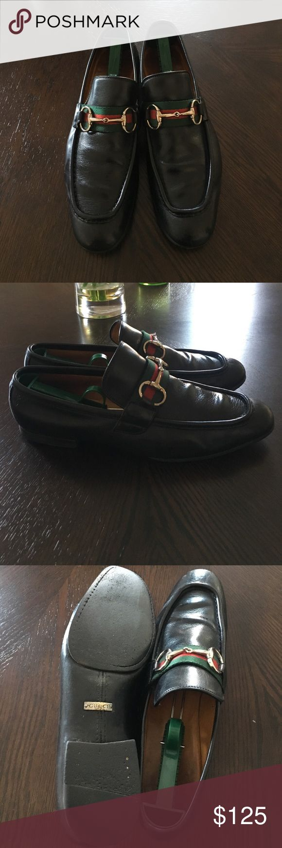 Gucci loafers Vintage Gucci loafers good investment have been worn Gucci size 9 USA 10 Gucci Shoes Loafers & Slip-Ons