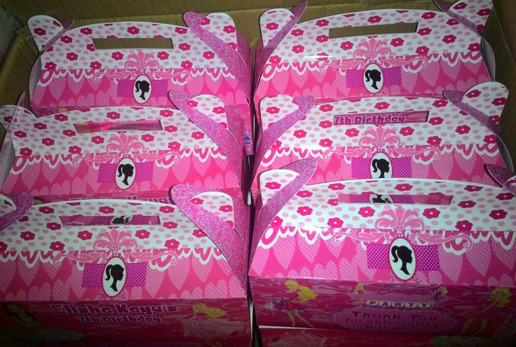 Lootbags | Batangas | Crafty Party Prints  Barbie Theme Party Box or Loot Bags. Pm us on on our fb page Crafty Party Prints   for orders and inquiries.  #personalized #customized #barbie #barbiethemedparty #barbiepartyideas #partysupplies   #partyneeds #craftypartyprints #gableboxph   #gablebox #favorbox #favorbags #partybox   #partybags #lootbags #birthday   #birthdayparty #lootbox #souvenirs   #giveaways