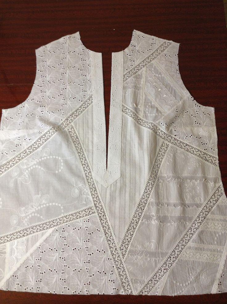 Блузка из батиста