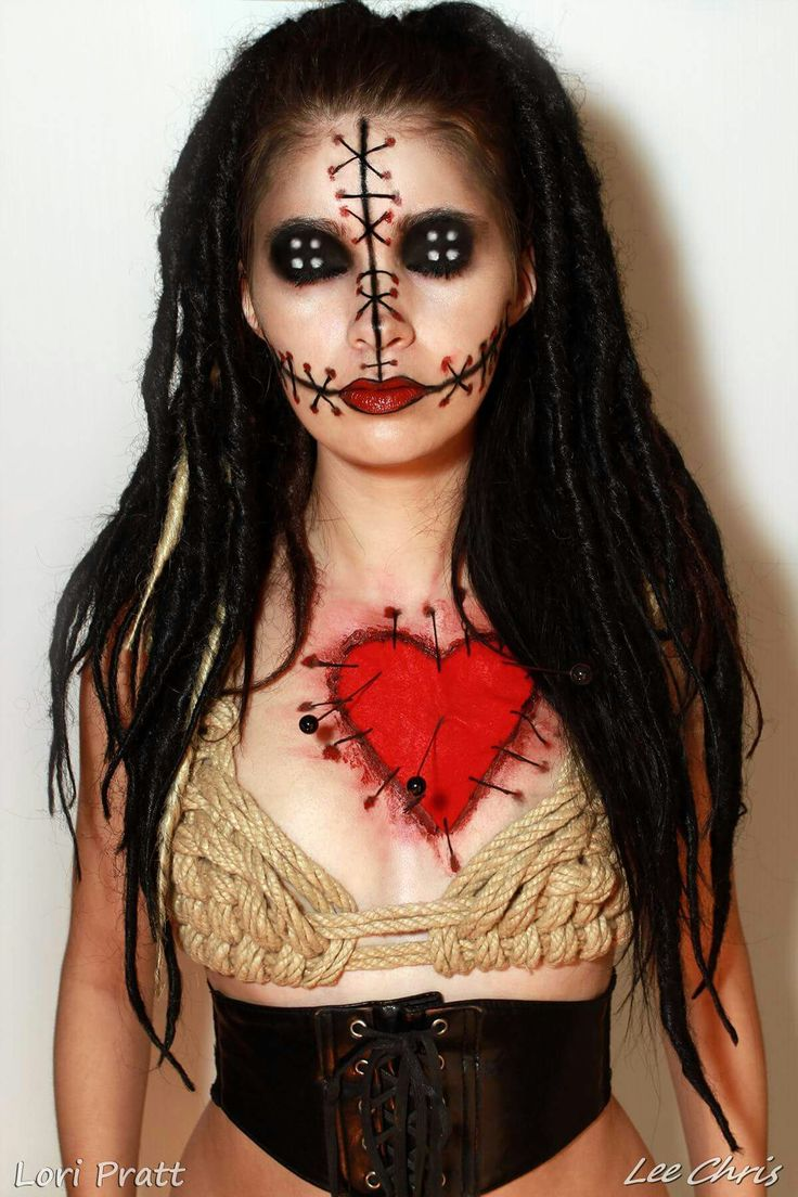 Voodoo doll costume